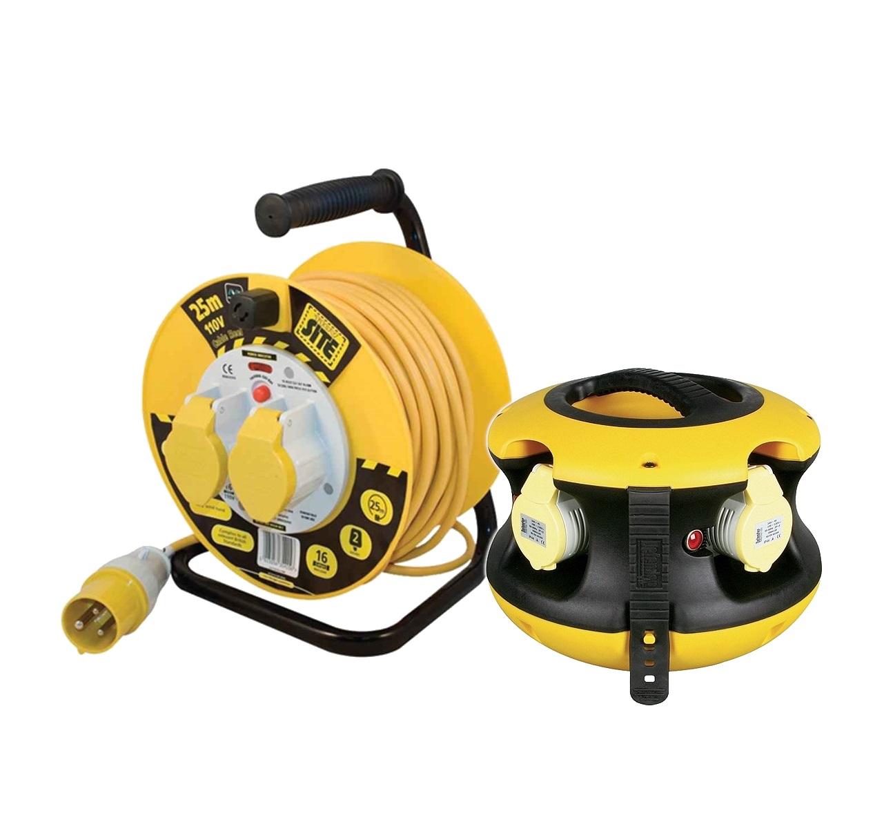 110v Cable Reels & Splitters
