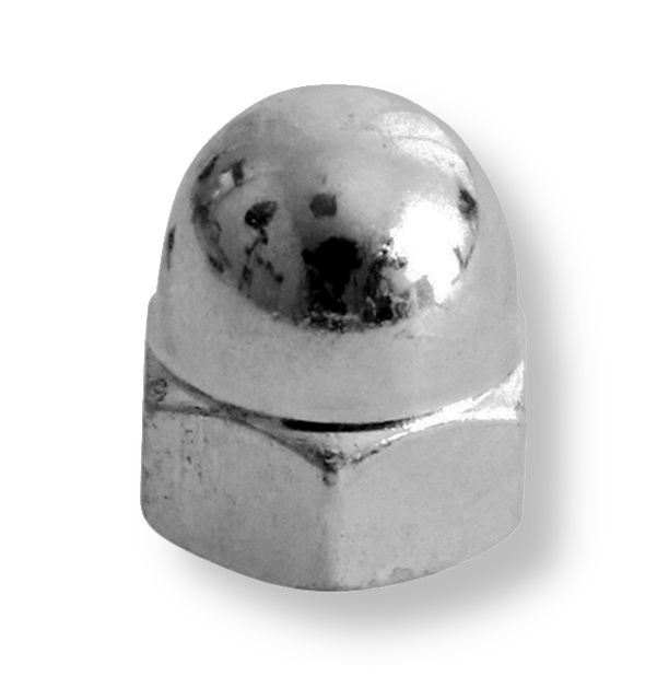 A2  (304)   Stainless Dome Nuts Din 1587