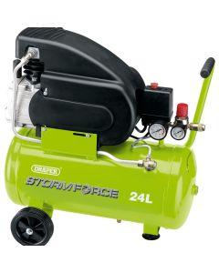 DRAPER 24L 230V 2hp Air Compressor 05278