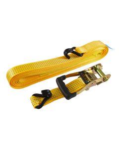 Veto J Hook Ratchet Strap – Heavy Duty – 10m x 50mm