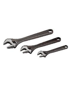BAHCO Adjustable Wrench 3 Piece Set, Contains; 9070, 9071, 9072