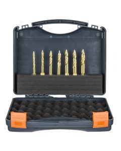 HMT VersaDrive TurboTip Impact Drill Bit Set Sizes; 6mm, 7mm, 8mm, 9mm, 10mm, 11mm & 12mm Part Numbe
