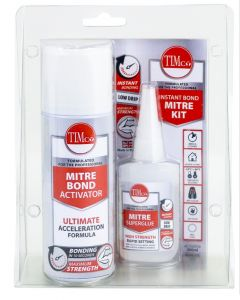 TIMco Instant Bond Mitre Kit - 200ml / 50g