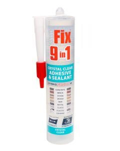 Multi-Fix 9 In 1 Adhesive & Sealant - Crystal Clear