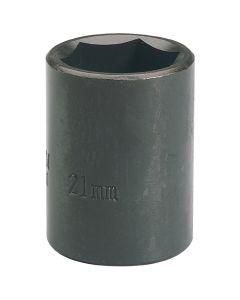 """DRAPER Expert 21mm 1/2"""" Square Drive Impact Socket 28511"""