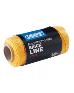 DRAPER Orange Propylene Brick Line (100M) 27425