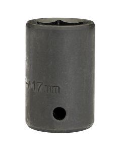 """DRAPER Expert 17mm 1/2"""" Square Drive Impact Socket 28496"""