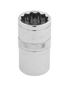 "DRAPER Expert 16mm 1/2"" Square Drive Hi-Torq® 12 Point Socket  33160"