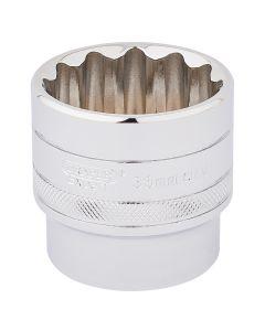 "DRAPER Expert 36mm 1/2"" Square Drive Hi-Torq® 12 Point Socket  33594"