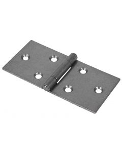 Veto Pair of Backflap Hinges - Uncranked - Steel - Self Colour - 50 x 106