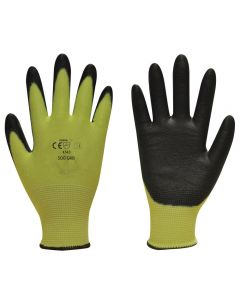 500 GRB Green Black Cut Level 5 Protection Gloves SIZE XL / SIZE 10