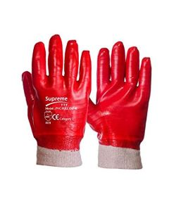 PVC Full Dip Knit Work Gloves – Size 10 / Size XL