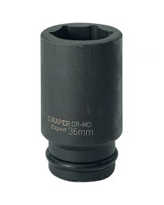 "DRAPER Expert 36mm 3/4"" Square Drive Deep Impact Socket 71940"