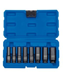 "DRAPER 3/8"" Square Drive Metric Deep Impact Socket Set (8 Piece) 83090"