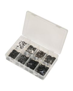 Sealey E-Clip Retainer Assortment 800pc Metric
