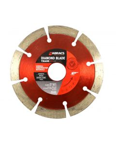 Abracs Diamond Blade 115mm x 10mm x 22mm GCM - Trade