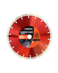 Abracs Diamond Blade 230mm x 10mm x 22mm GCM - Trade