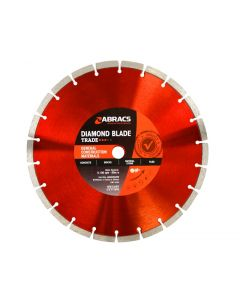 Abracs Diamond Blade 300mm x 10mm x 20mm GCM - Trade