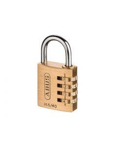 ABUS 165/40 40mm Solid Brass Body Combination Padlock (4-Digit) 32163