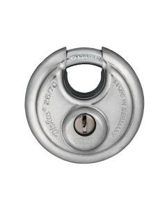 ABUS 26/70mm Diskus Padlock Stainless Steel 32178