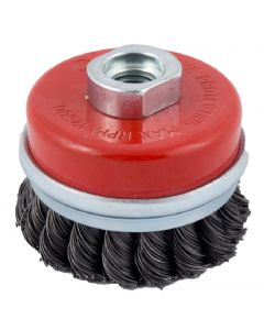 Abracs Wire Brush Twist Knot Cup70mm x M14