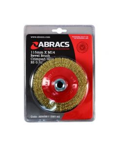 Abracs Crimp Bevel Brush 115mm x M14