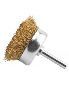 Abracs Spindle Mounted 50mm Cup Brush S/S