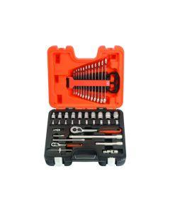"BAHCO 41pcs 1/2"" & 1/4"" Drive Socket  & Spanner Set - S410"