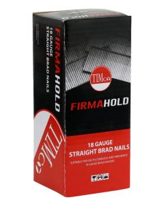 FirmaHold Collated Brad Nails - 18 Gauge - Straight - Stainless Steel - 18g x 25mm