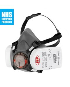 JSP Force 8 Medium Half-mask with PressToCheck P3 R D Filters