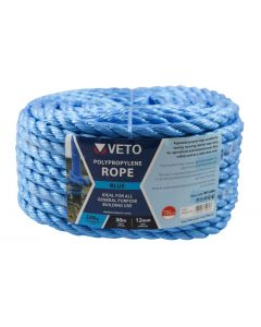 Veto Polypropylene Rope - Coil – 12mm x 30m