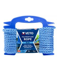Veto Polypropylene Rope - Winder – 6mm x 20m