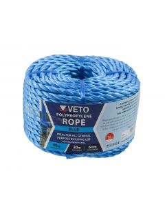 Veto Polypropylene Rope - Coil – 6mm x 30m