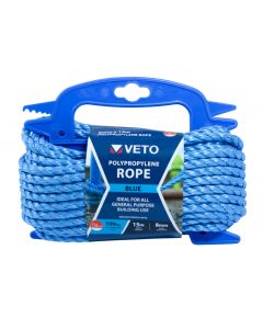 Veto Polypropylene Rope - Winder – 8mm x 15m