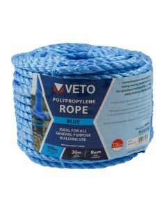 Veto Polypropylene Rope - Coil – 8mm x 30m