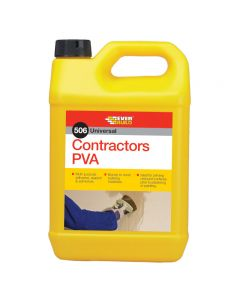 EVERBUILD 506 CONTRACTORS PVA 5 LITRE