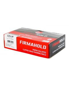 FirmaHold Collated Clipped Head Nails - Plain Shank - 3.1 x 90 - Firmagalv