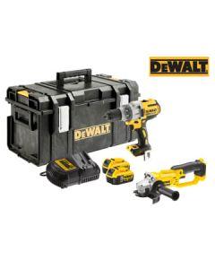 DEWALT DCK278P2 XR Twin Pack 18V 2 x 5.0Ah Li-ion