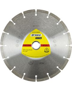 KLINGSPOR 230mm x 2.3mm x  22.23mm DIAMOND CUTTING BLADE