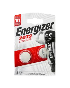 Energizer Lithium CR2032 Coin Battery Pack of 2