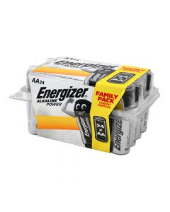 Energizer Alkaline Power Value Home Pack AA Battery Pack of 24