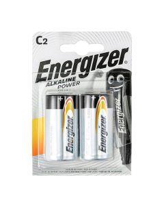Energizer Alkaline Power Battery C E93 Pack of 2