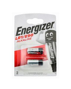 Energizer Alkaline LR1/E90 Battery Pack of 2