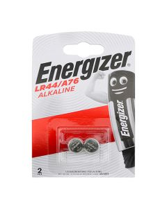 Energizer Alkaline A76/LR44 Coin Battery Pack of 2