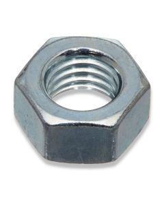 M14  Hexagon Full Nuts  1.50 Pitch Fine Thread Grade 8  Zinc Plated  DIN 934
