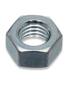 M16  Hexagon Full Nuts  1.50 Pitch Fine Thread Grade 8  Zinc Plated  DIN 934