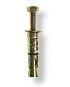 M6  x  55 Shield Anchor Bolt (M12 Drill) Zinc & Yellow