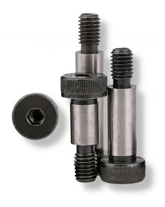 M10 (M8)  x  25    Socket  Shoulder  Screws  Grade 12.9   Self Colour  ISO -7379