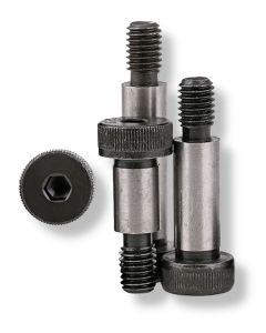 M6 (M5)  x  40    Socket  Shoulder  Screws  Grade 12.9   Self Colour  ISO -7379