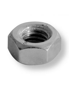 M6  Hexagon  Full Nuts A4  Stainless Steel (316)  DIN 934